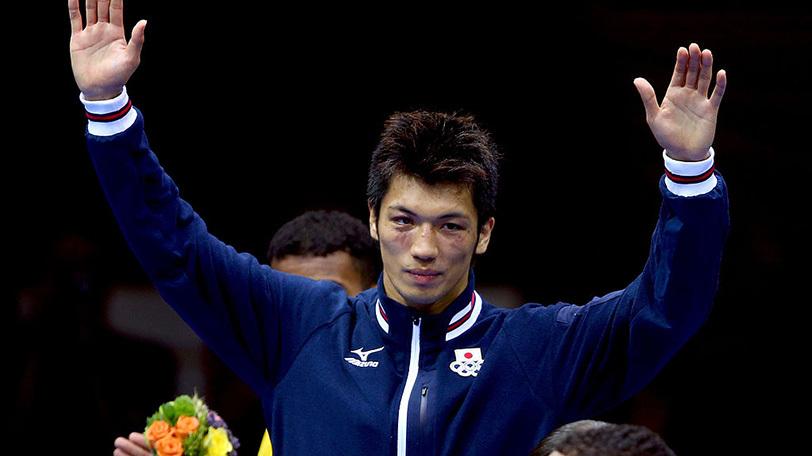 ロンドンオリンピックミドル級金メダリストの村田諒太Ⓒゲッティイメージズ