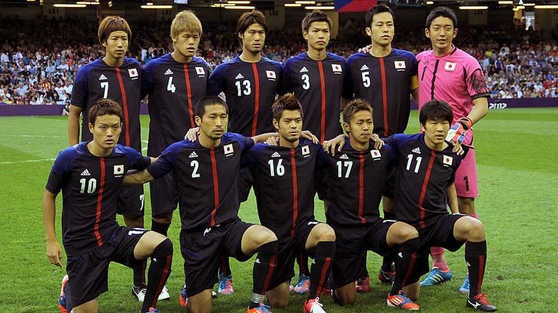 2012年ロンドンオリンピックのサッカー男子日本代表(関塚ジャパン)Ⓒゲッティイメージズ