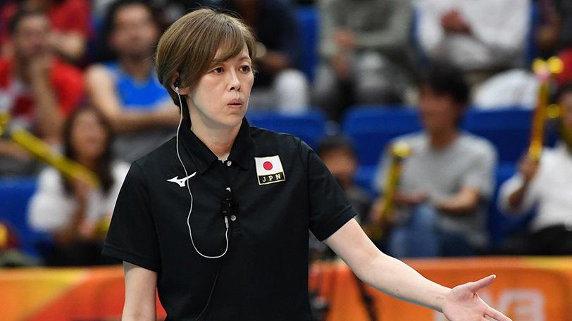 バレーボール全日本女子監督の中田久美Ⓒゲッティイメージズ