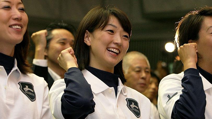 バルセロナオリンピック女子200m平泳ぎ金メダリスト岩崎恭子Ⓒゲッティイメージズ