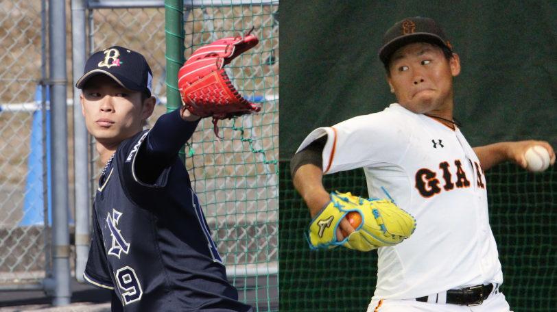 山岡泰輔(左)と田口麗斗ⒸSPAIA