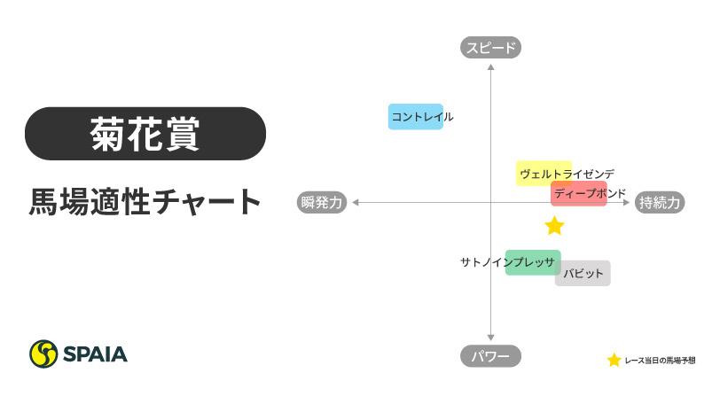 2020年菊花賞馬場適性チャート