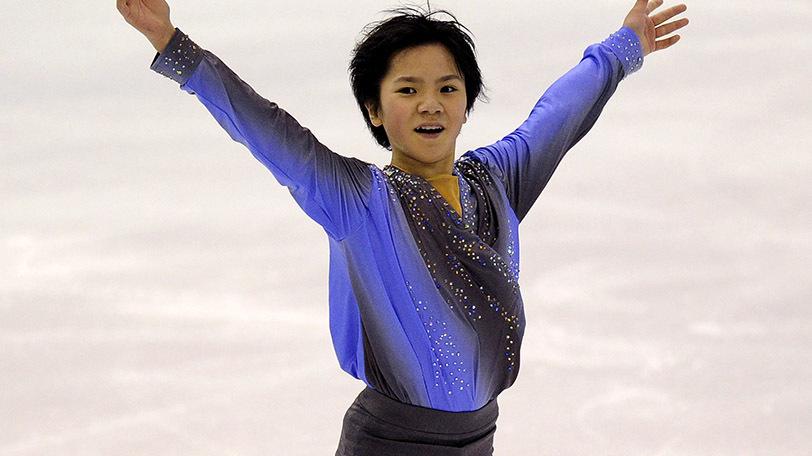 宇野昌磨(世界ジュニアフィギュアスケート選手権2013出場時)Ⓒゲッティイメージズ