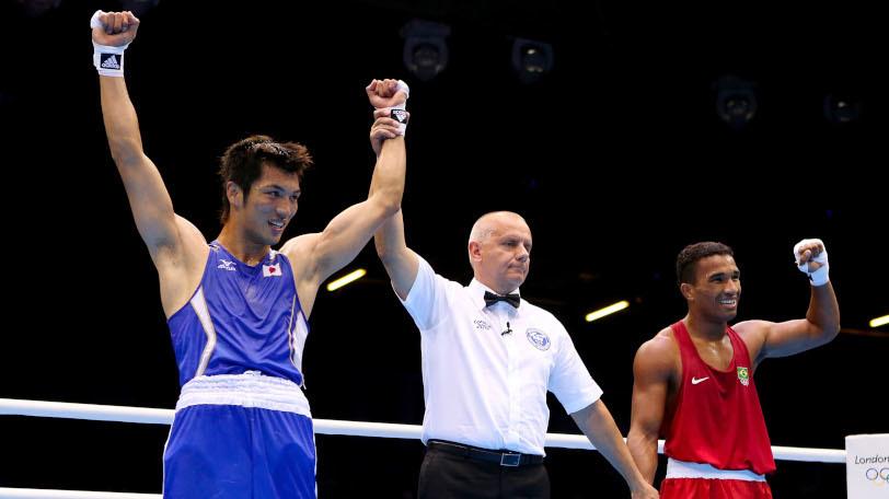 ロンドン五輪で金メダルを獲得した村田諒太Ⓒゲッティイメージズ