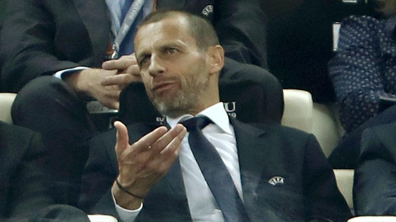 UEFAのアレクサンデル・チェフェリン会長ⒸSPAIA