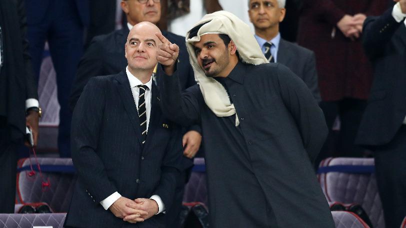 FIFAのインファンティーノ会長Ⓒゲッティイメージズ