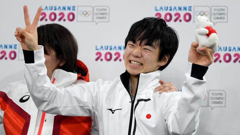 冬季ユース五輪で金メダルに輝いた鍵山優真Ⓒゲッティイメージズ