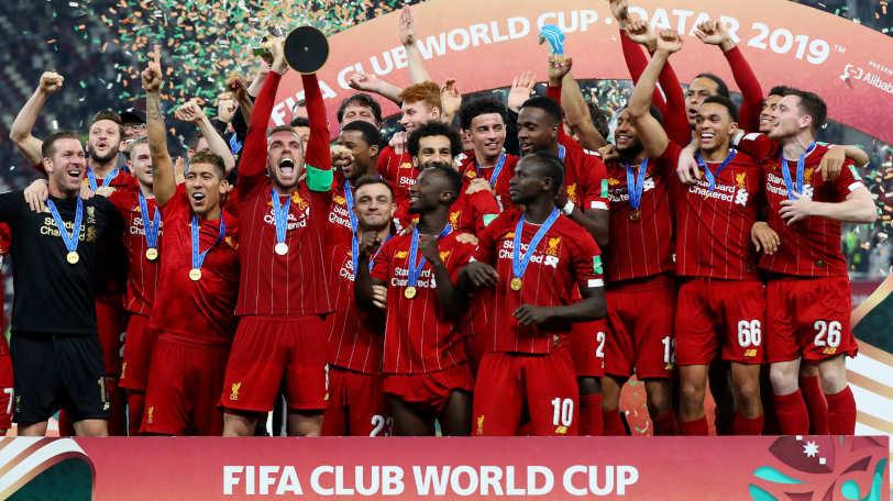 2019年のクラブワールドカップで優勝したリヴァプールⒸゲッティイメージズ
