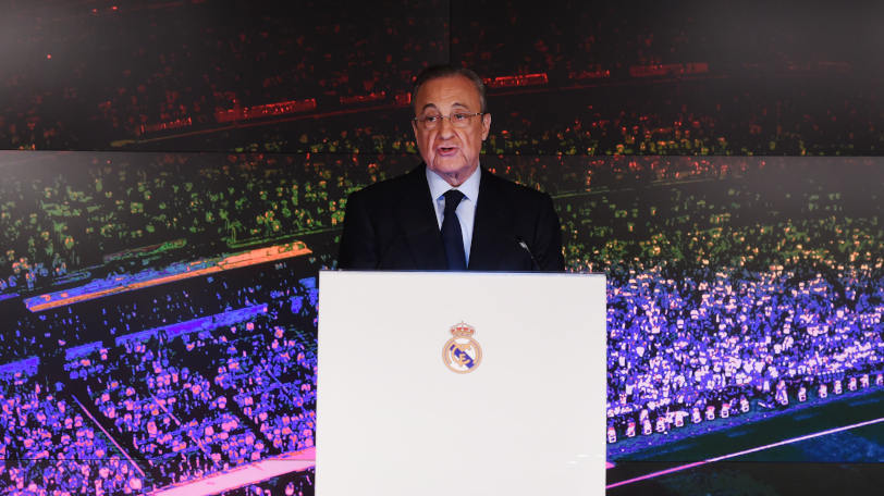 フロレンティーノ・ペレス会長Ⓒゲッティイメージズ