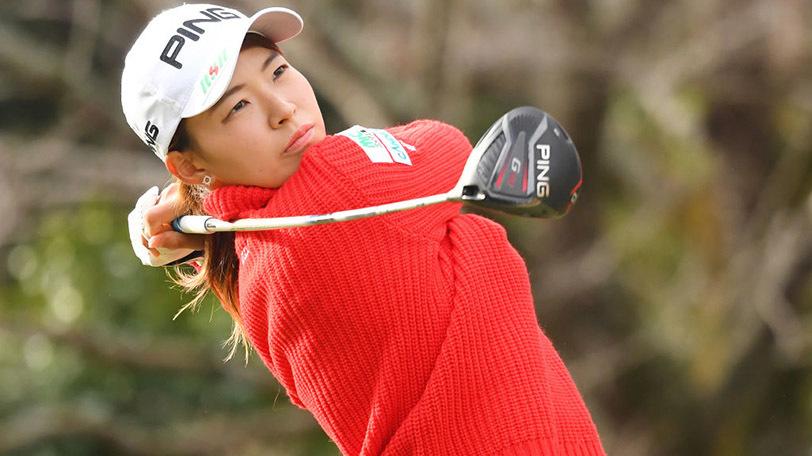 日本女子プロゴルファーの渋野日向子Ⓒゲッティイメージズ