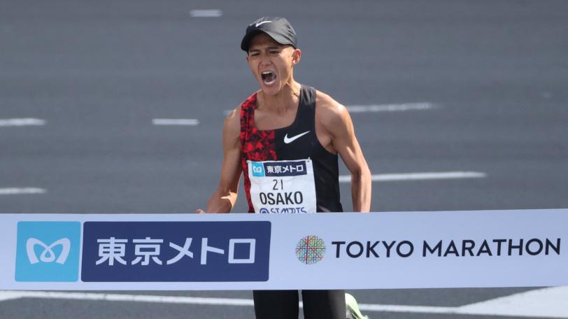 日本新記録で五輪をほぼ手中にした大迫傑Ⓒゲッティイメージズ