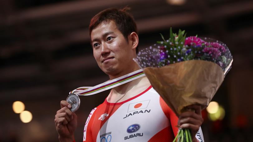 世界選手権で銀メダルを獲得した脇本雄太Ⓒゲッティイメージズ