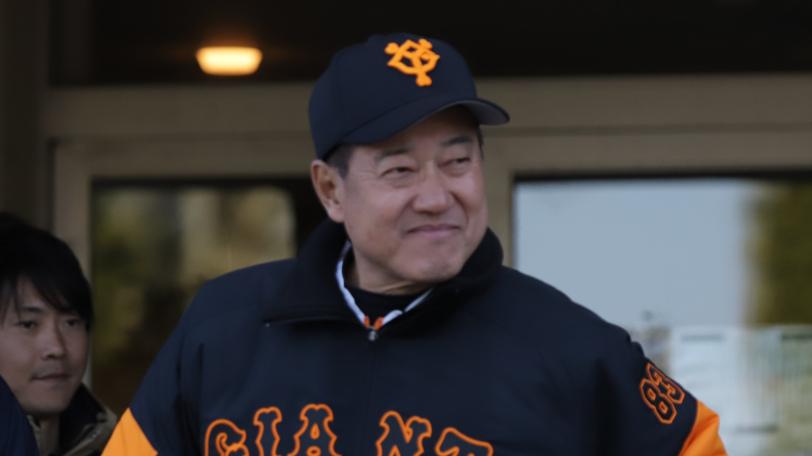 巨人・原辰徳監督ⒸSPAIA