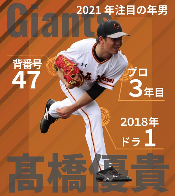 巨人・髙橋優貴インフォグラフィック