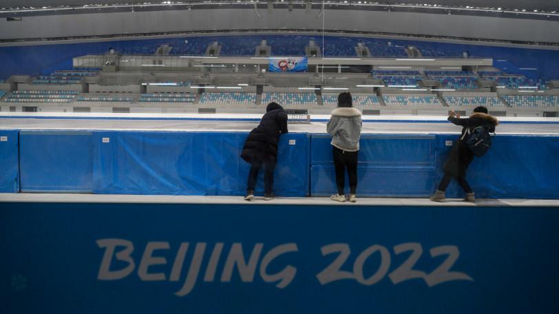 北京冬季五輪の会場Ⓒゲッティイメージズ