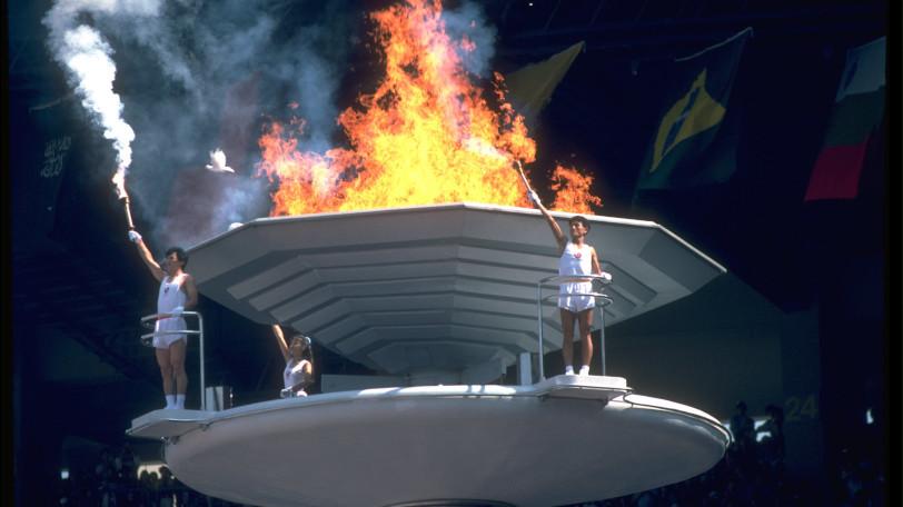 ソウル五輪の開会式Ⓒゲッティイメージズ