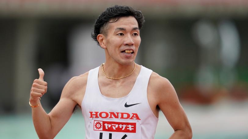 男子陸上競技選手の荒井七海Ⓒゲッティイメージズ