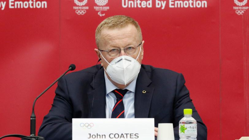 IOCのコーツ調整委員長Ⓒゲッティイメージズ