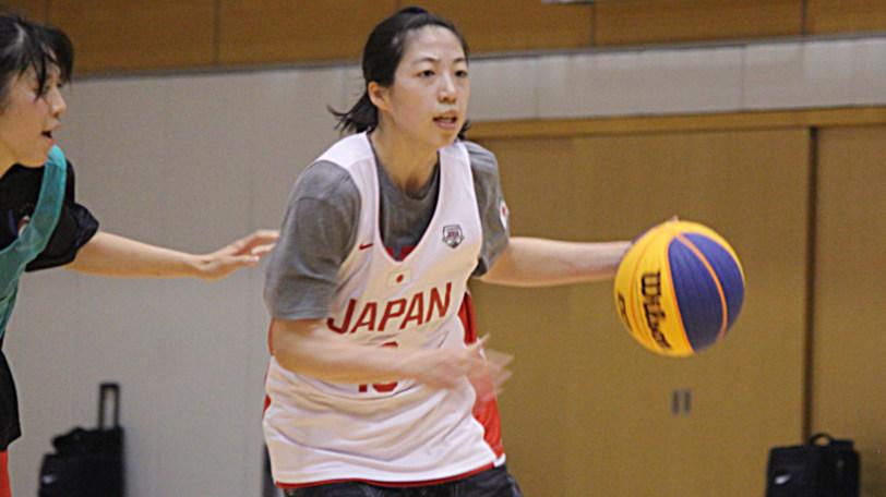 3×3女子U23日本代表の永田萌絵(東京医療保健大学)Ⓒマンティー・チダ
