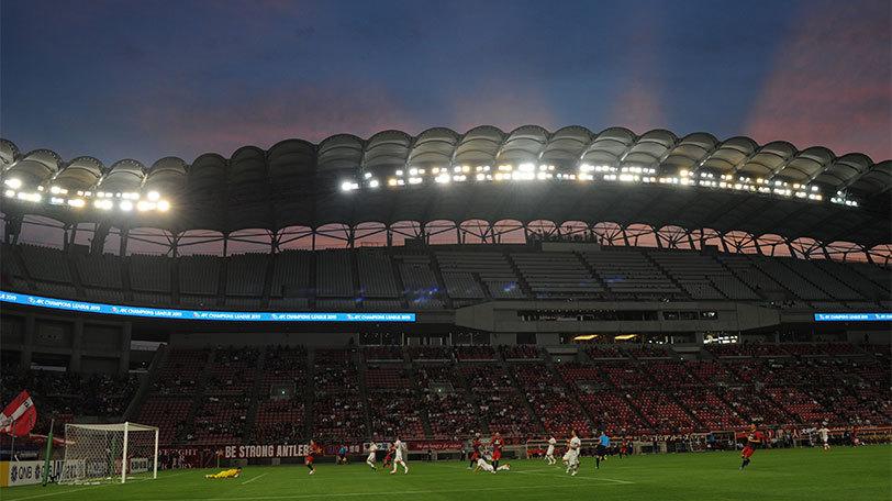 サッカー_横浜Fマリノス対マンチェスター・シティの試合Ⓒゲッティイメージズ