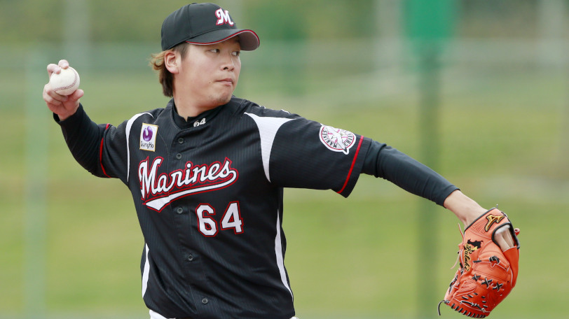 ロッテの二木康太投手ⒸYoshihiro KOIKE